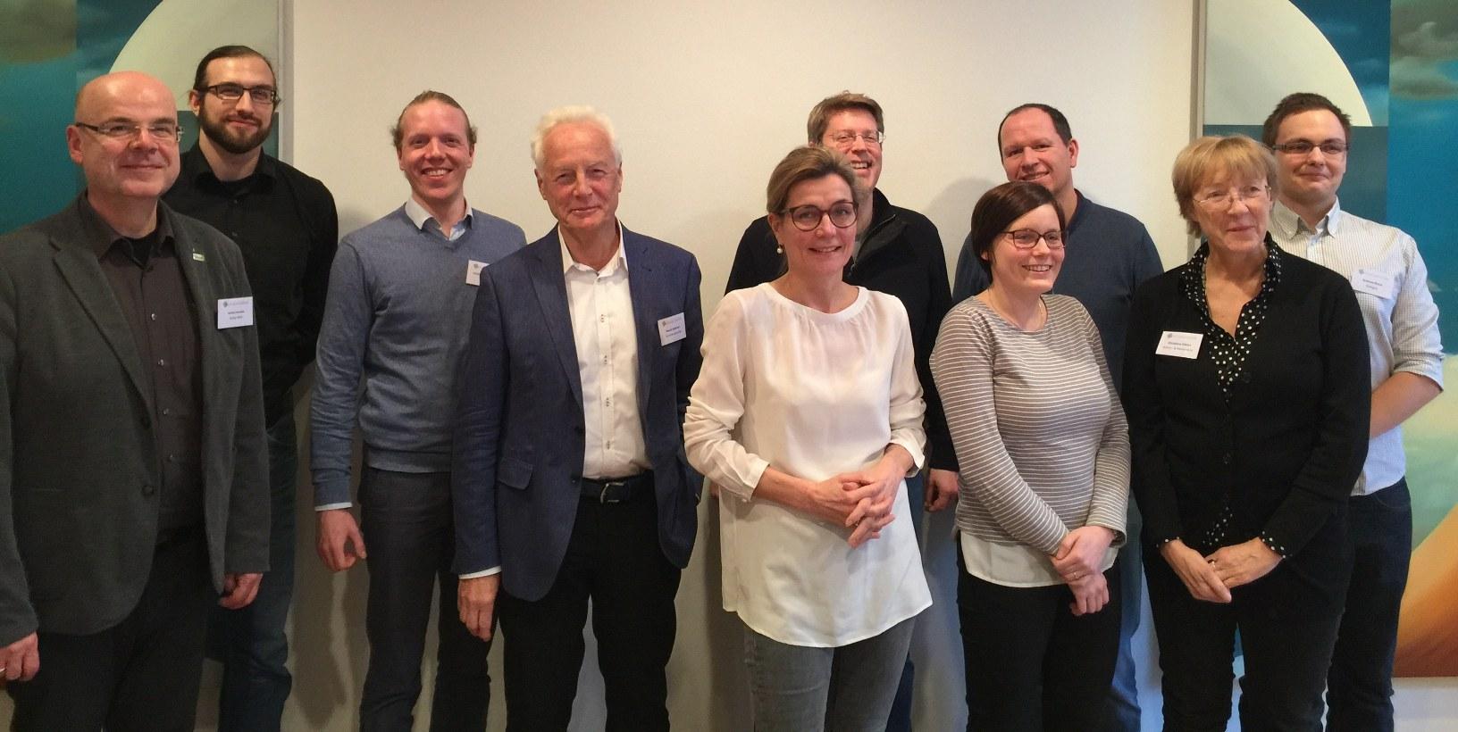 Der Vorstand des Forschungskollegs Online-Partizipation